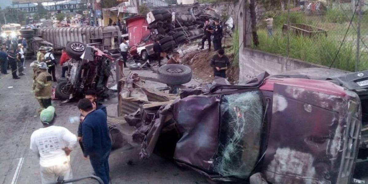 VIDEOS. Los accidentes de tránsito más impresionantes de 2017 en Guatemala