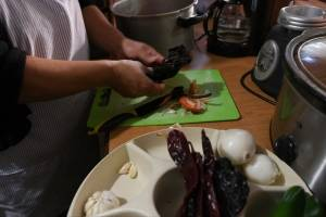 Cómo hacer un tamal colorado