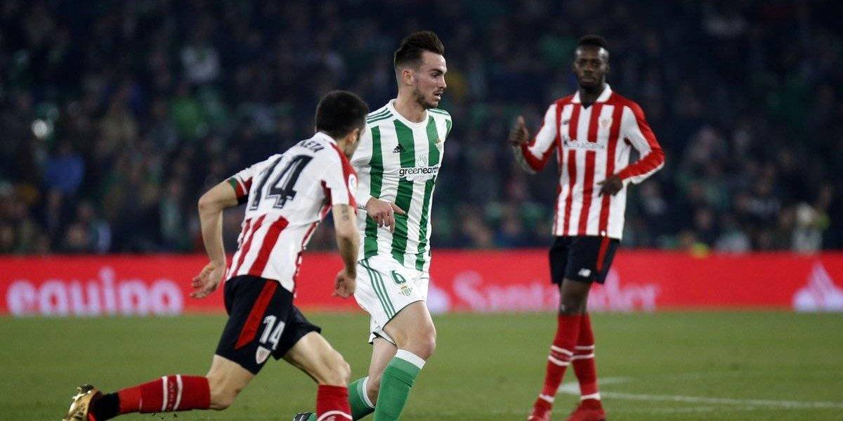 Betis no pudo con el Athletic y Andrés estuvo Guardado por laceración