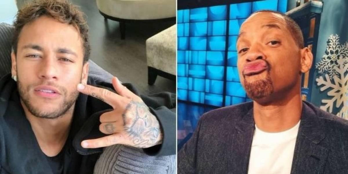 Will Smith está doido para conhecer Neymar; veja vídeo