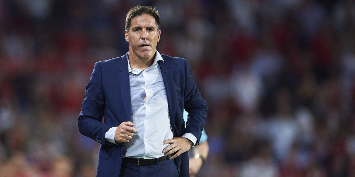 'Debido a la mala racha del equipo', Sevilla despidió a su técnico
