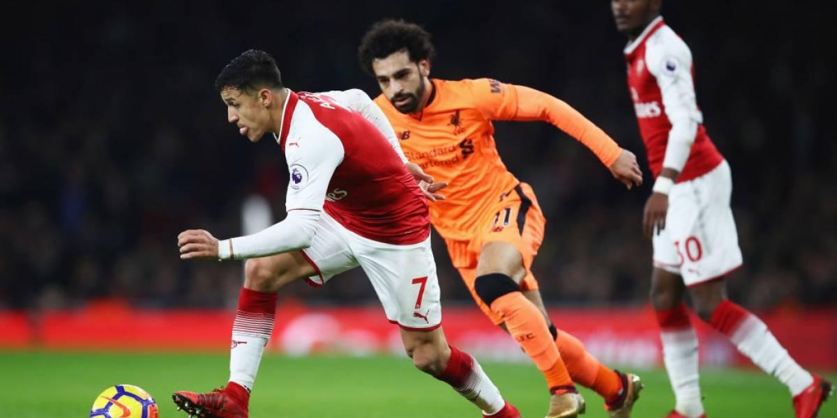 Así vivimos el espectacular empate del Arsenal de Alexis ante Liverpool