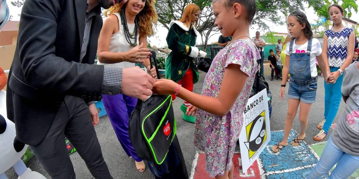 DDR y el Banco de Alimentos de Puerto Rico unen fuerzas para los niños