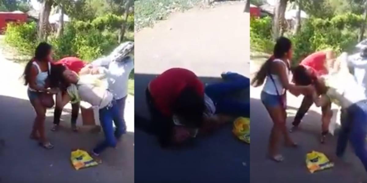 Un agarrón entre dos mujeres genera trancón en un peaje en la costa Caribe