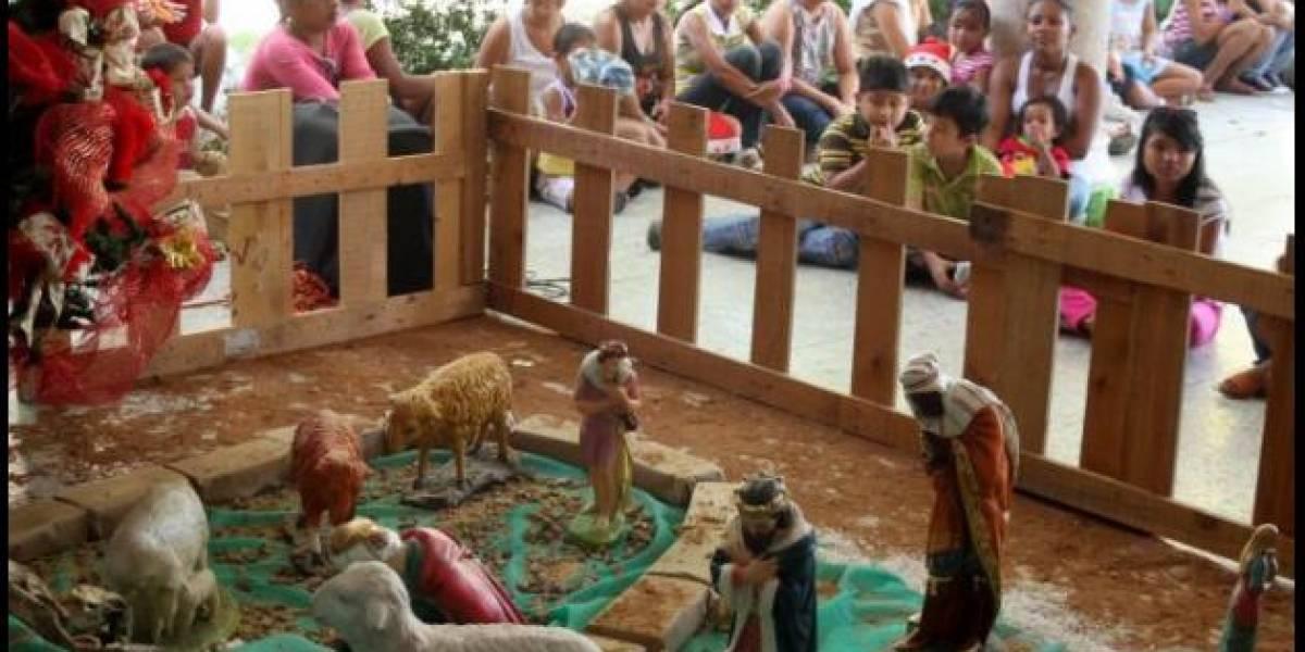 Asaltan un pueblo colombiano en pleno rezo navideño