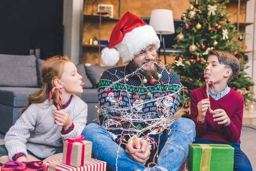 Papi, mami, quiero regalos