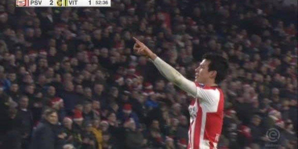 VIDEO: Regresó el gol para 'Chucky' Lozano