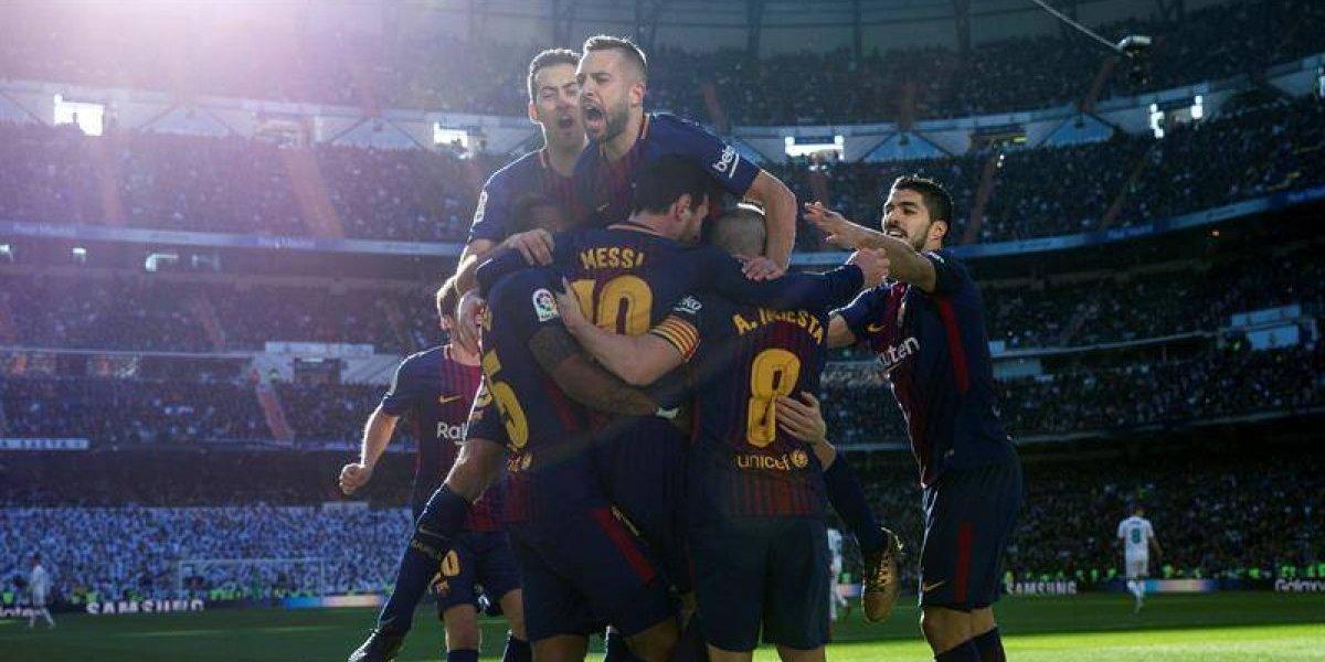 Barcelona humilló al Real Madrid en el Bernabéu y comienza a asegurar el título