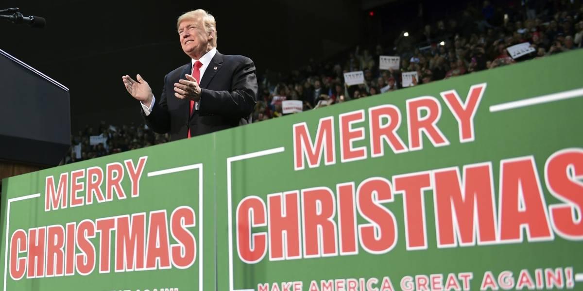 """¿Por qué es tan importante para Trump decir """"Feliz Navidad""""?"""