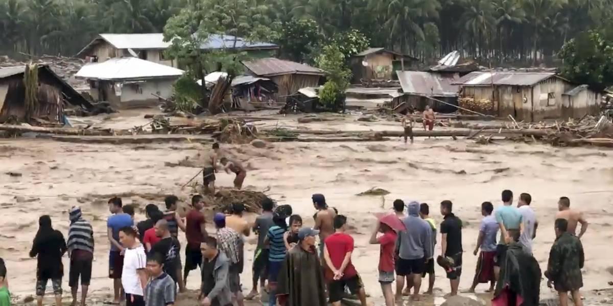 """México lamenta la pérdida de vidas en Filipinas por la tormenta """"Tembin"""""""