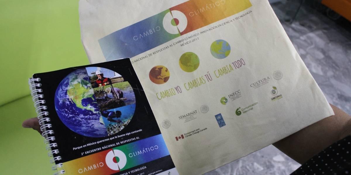 Gasta INECC 99 mil pesos en mil kits contra el cambio climático
