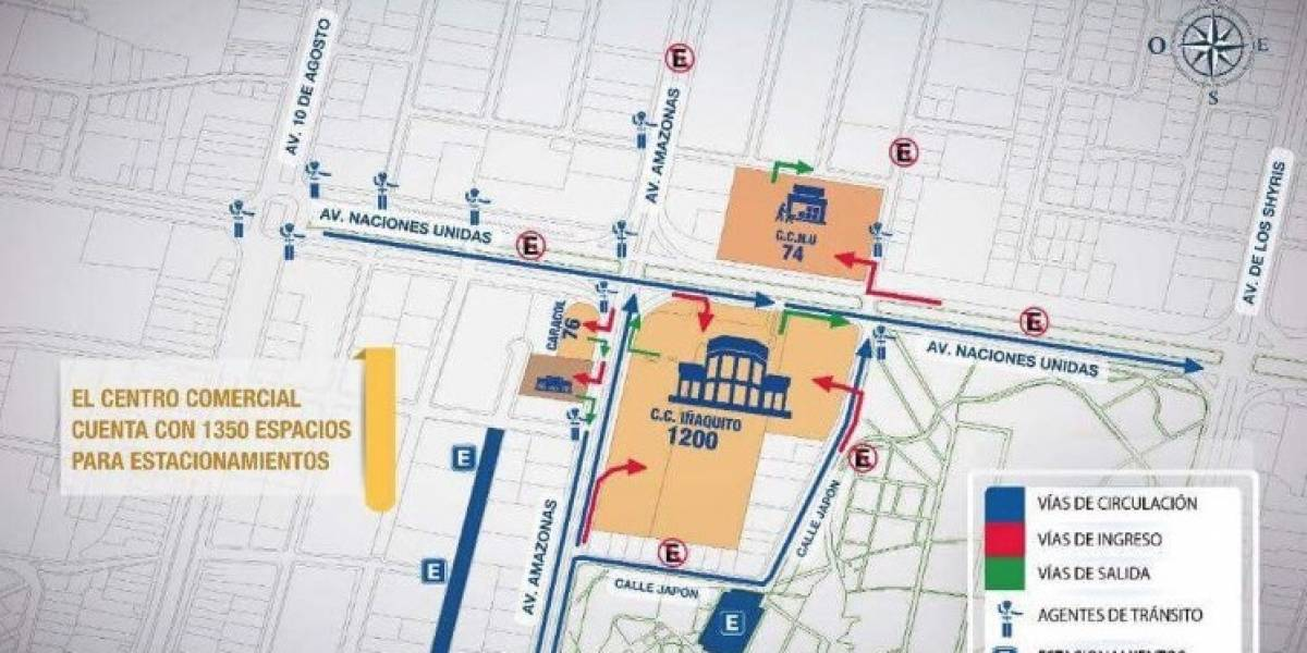 Planes operativos de movilidad para centros comerciales en Quito