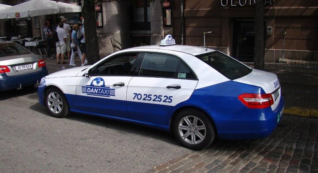Taxi en Dinamarca