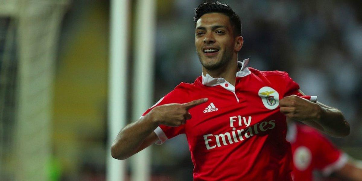 VIDEO: Raúl Jiménez abre el marcador a favor del Benfica frente a Feirense