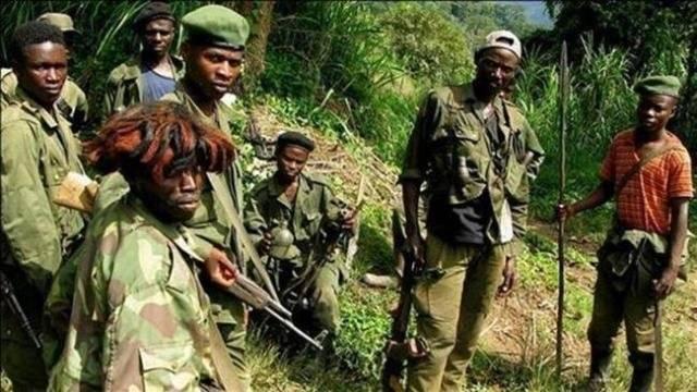 Ninjas Nsiloulou - Congo, milicia