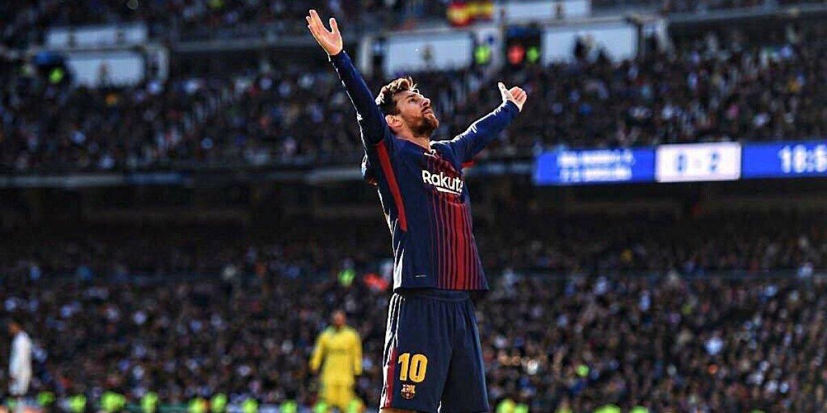 Clásica goleada del Barcelona en el Bernabéu