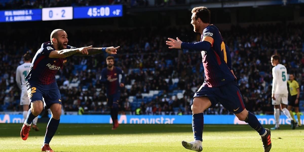 Barcelona entierra al Madrid con goleada en el Bernabéu