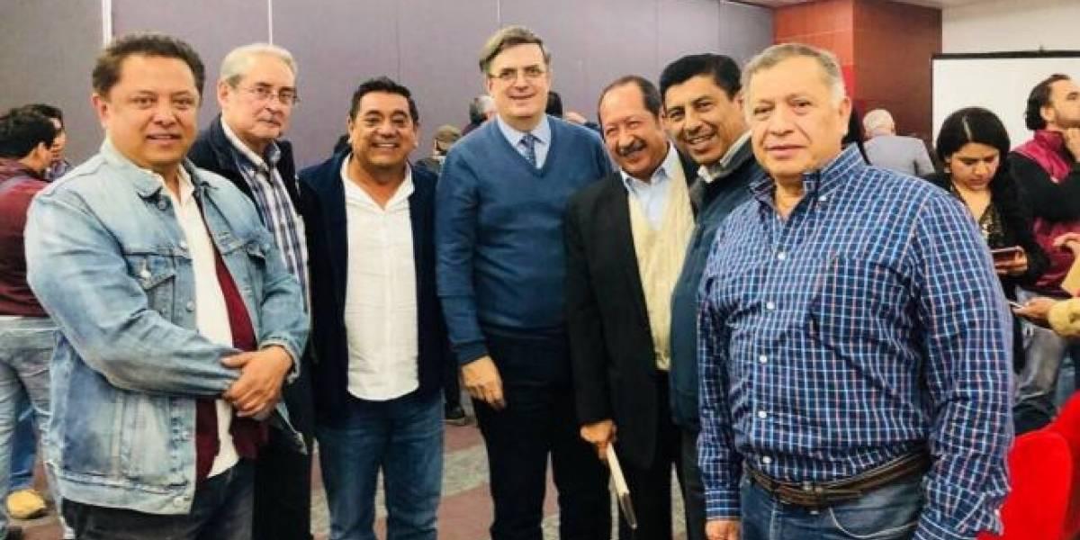 Marcelo Ebrard reaparece en la escena política de México