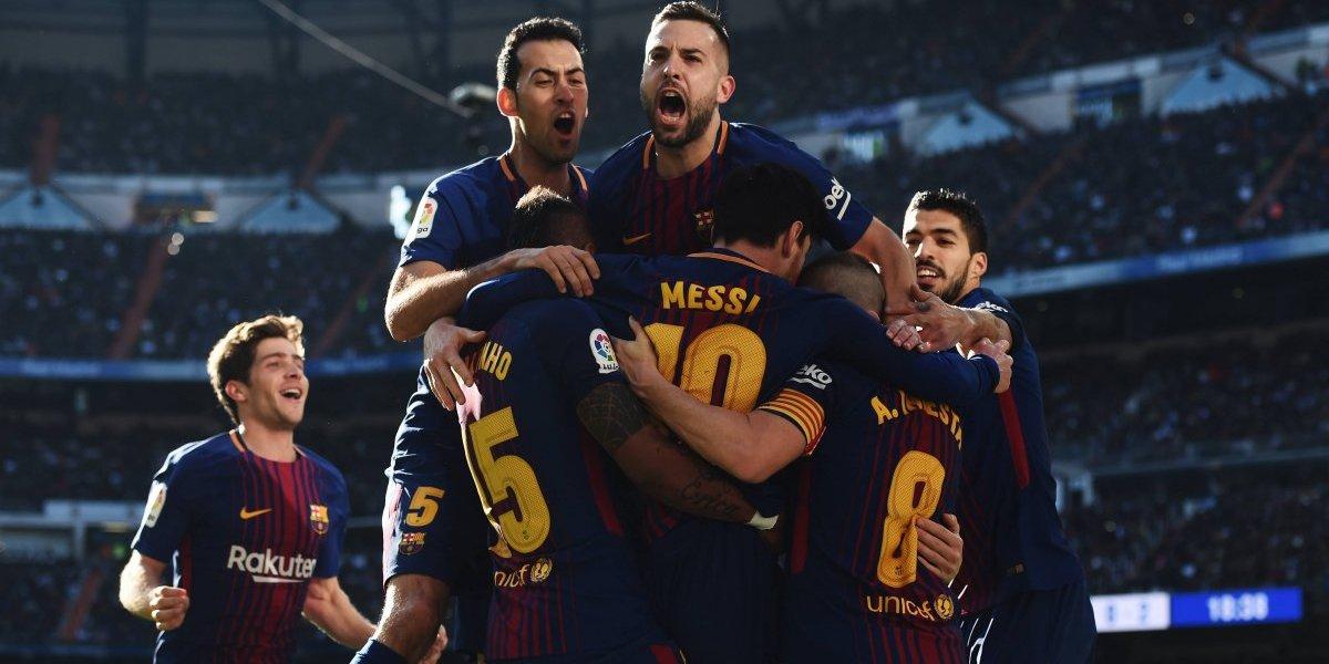 El Barcelona se impone ante el Real Madrid y Messi supera a Cristiano en goles