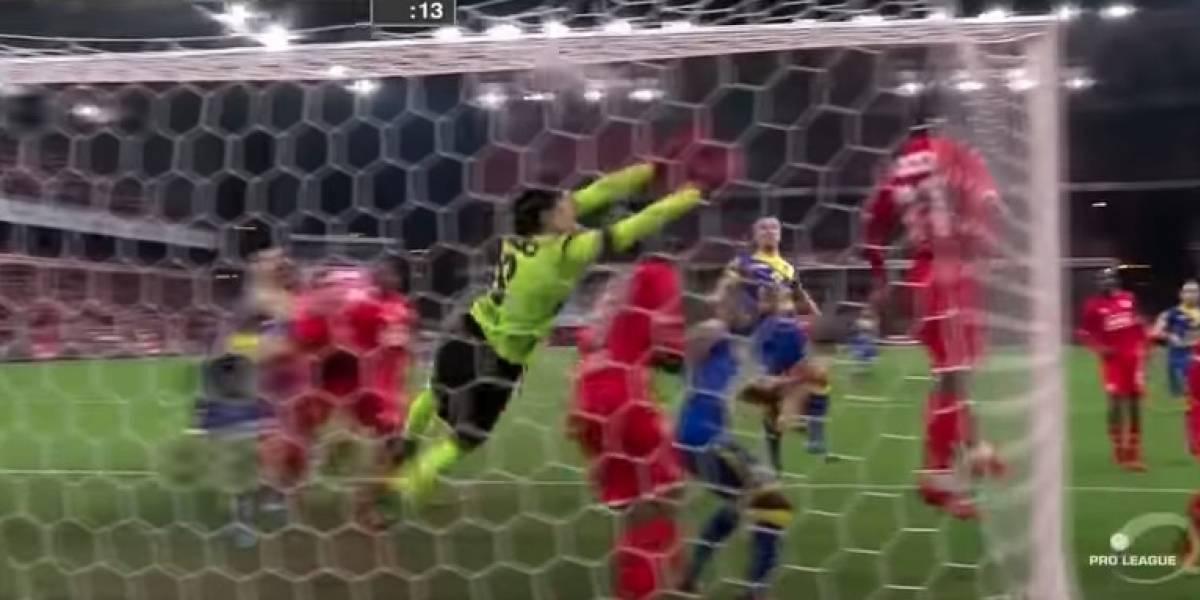 Memo Ochoa recibió gol olímpico de último minuto con el Lieja ...