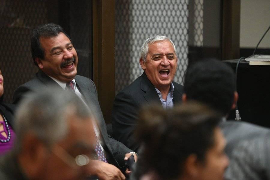 César Calderón y Otto Pérez Molina