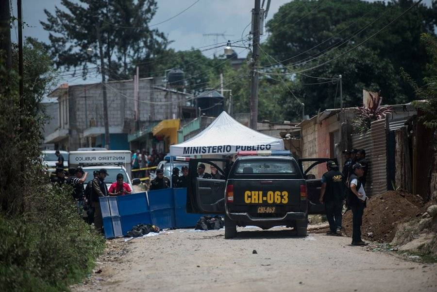 Agentes PNC asesinados en Chimaltenango