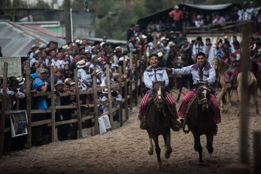 Carrera de Cintas en Huehuetenango