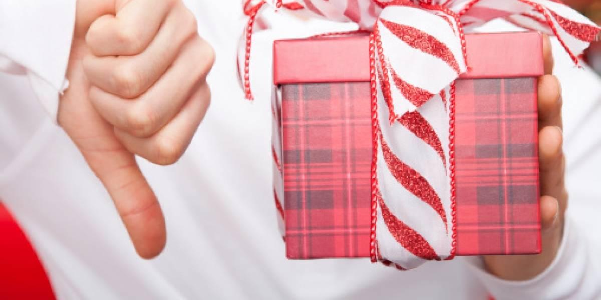 Los 5 peores regalos que te pueden dar en Navidad