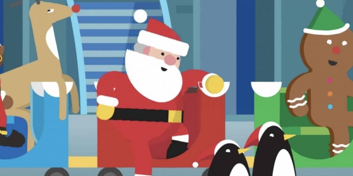 Así puedes seguir el recorrido de Santa Claus