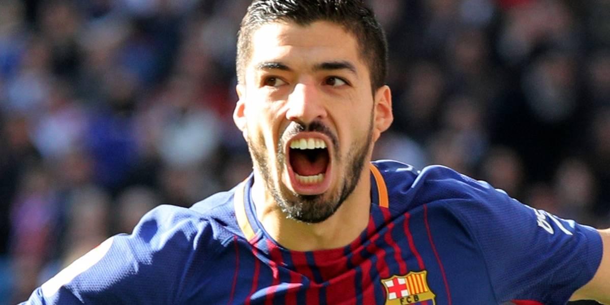 Após brilhar no Barça contra o Real, Suárez festeja marca de 400 gols na carreira