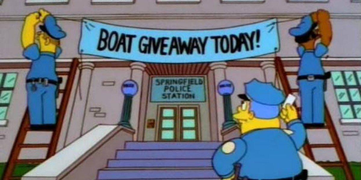"""""""La caña ya tiene carnada"""": policía inglesa utiliza """"treta"""" de Los Simpson para detener a varios delincuentes"""
