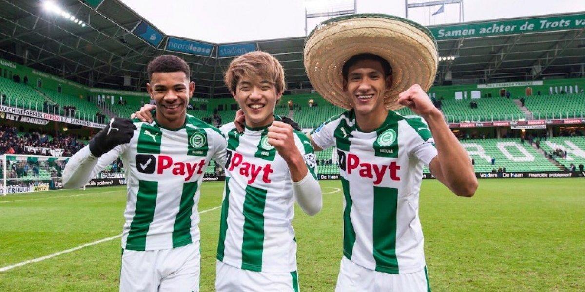 Antuna contribuye en la goleada de Groningen sobre Sparta Rotterdam