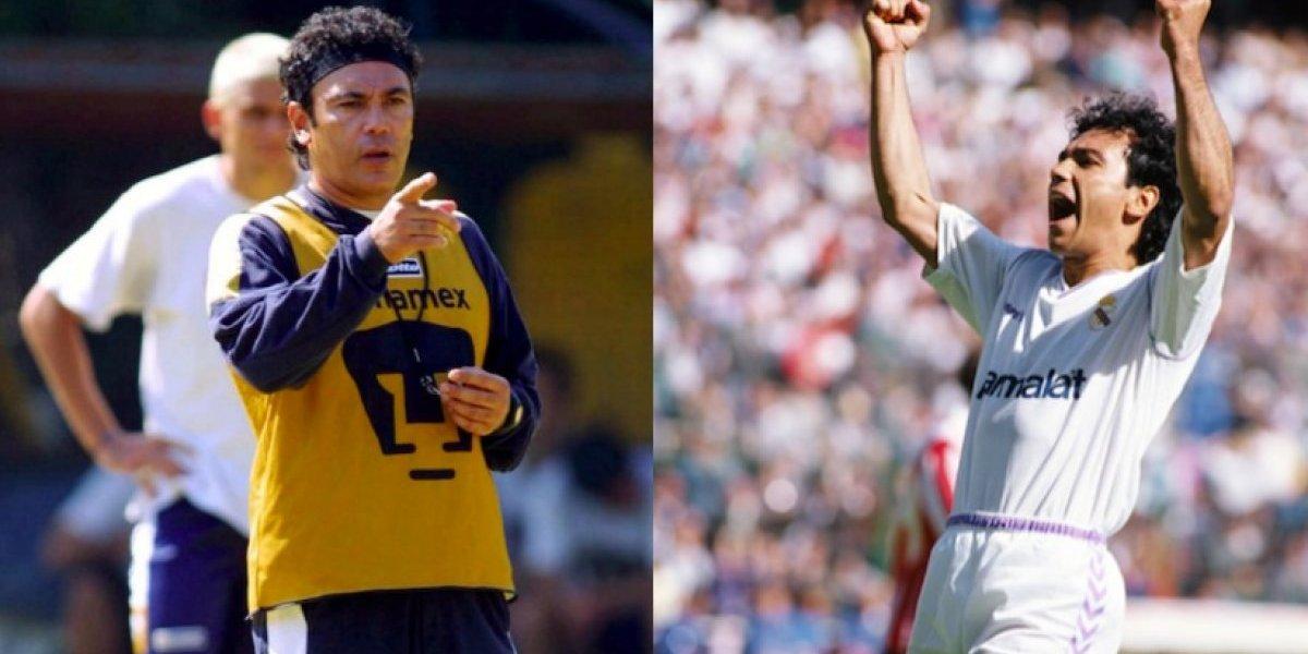 Hugo Sánchez recuerda a Pumas y al Real Madrid en Navidad