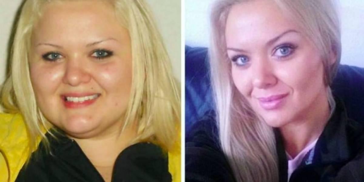 Mujer bajó de peso como venganza a su exnovio