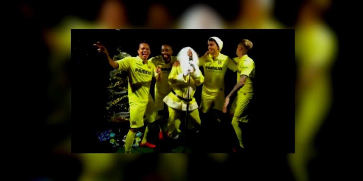 VIDEO: Jugadores del Villarreal se lucen y cantan villancico