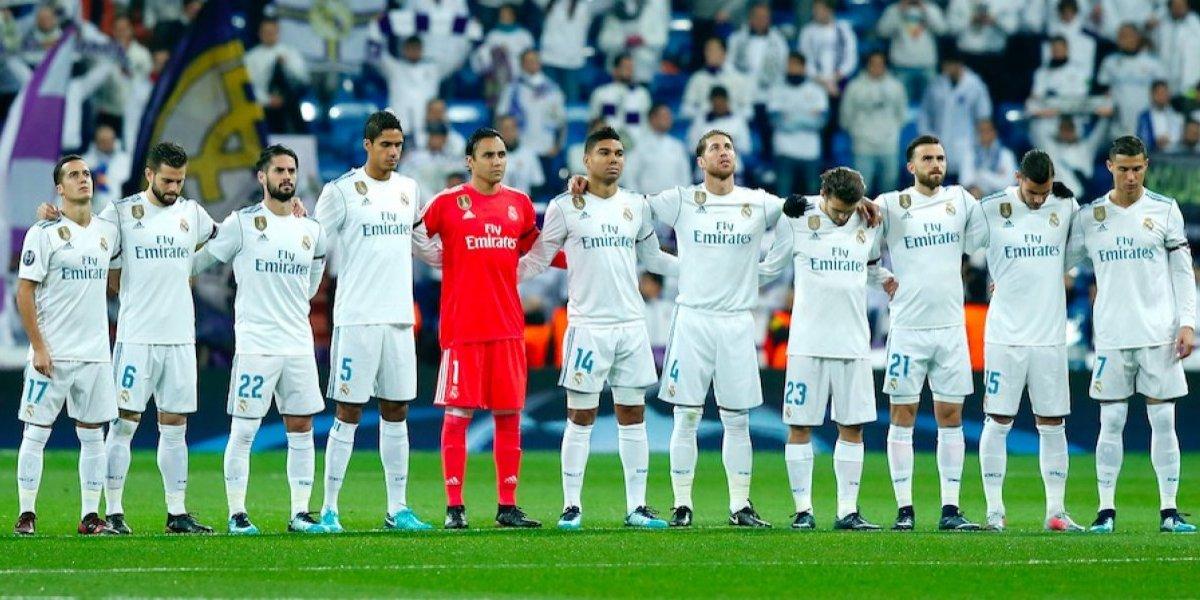 Jugadores del Real Madrid tendrán siete días de vacaciones