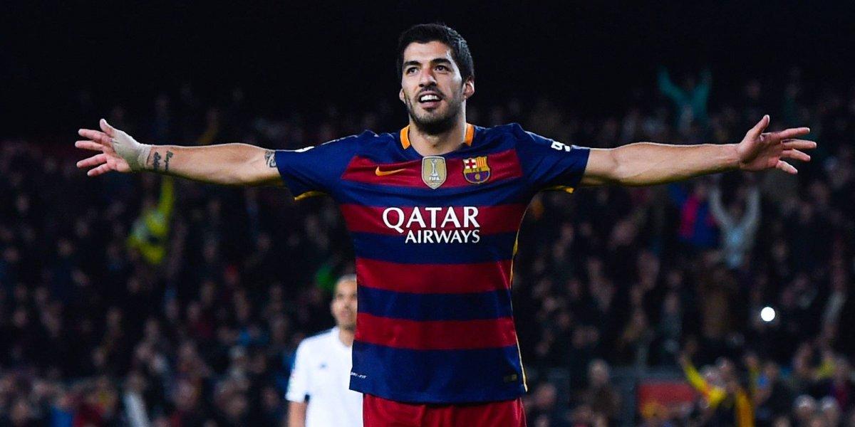 Luis Suárez presume cientos de goles en su historial