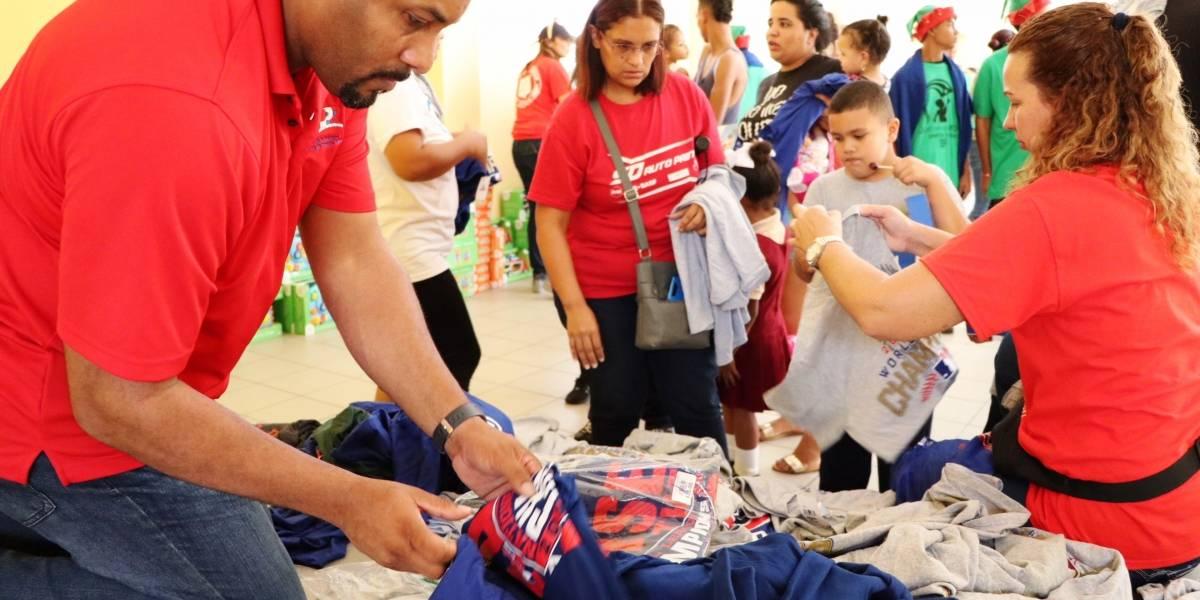 Salvation Army entrega 15 mil obsequios a niños de 11 municipios