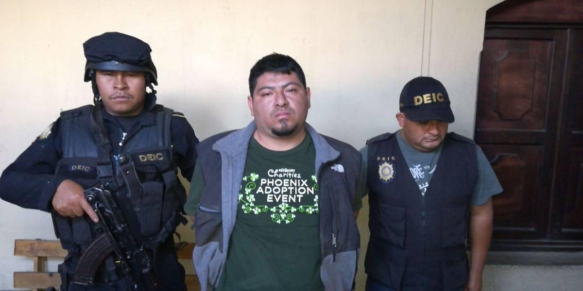 Capturan a presunto líder pandillero señalado de ocho asesinatos