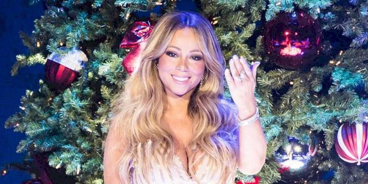 Mariah Carey presume sus 50 libras menos con diminuto bikini negro