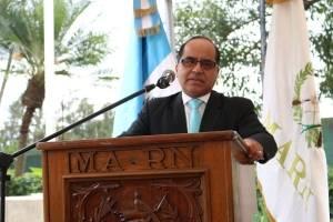 ministro de Educación, Oscar Hugo López