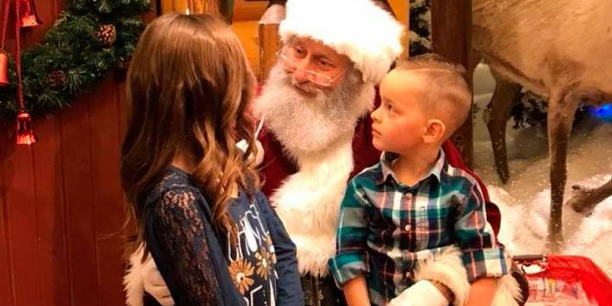 Menina pede ao Papai Noel que a prima se cure do câncer