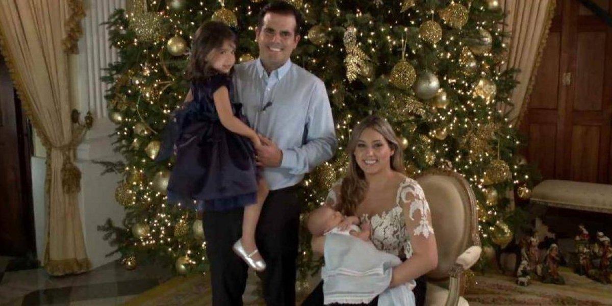 Familia Rosselló le desea feliz Navidad a los puertorriqueños