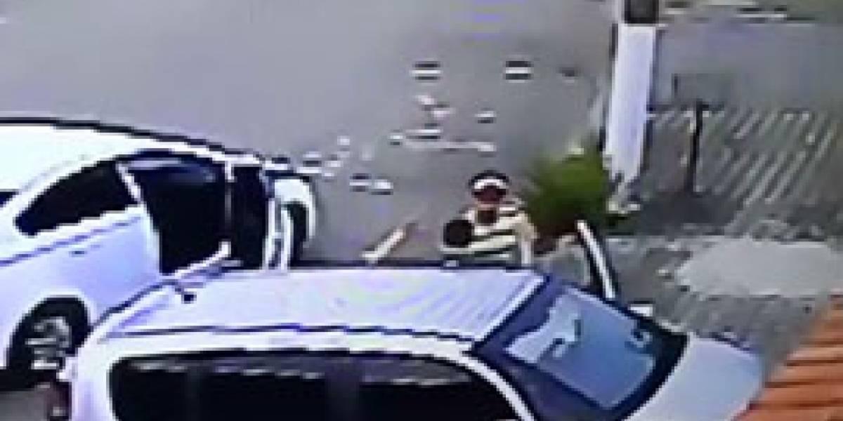 Suspeito de roubo é preso em Santos