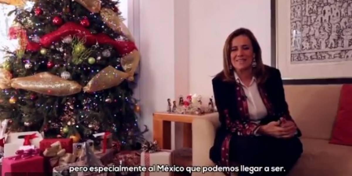 En 2017, los mexicanos demostramos que somos nuestra mayor fuerza: Zavala