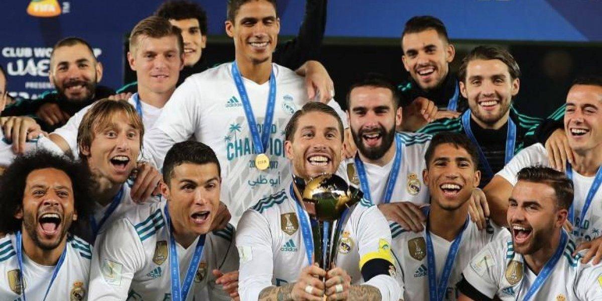 Real Madrid terminará el 2017 al frente del ranking de clubes de la UEFA