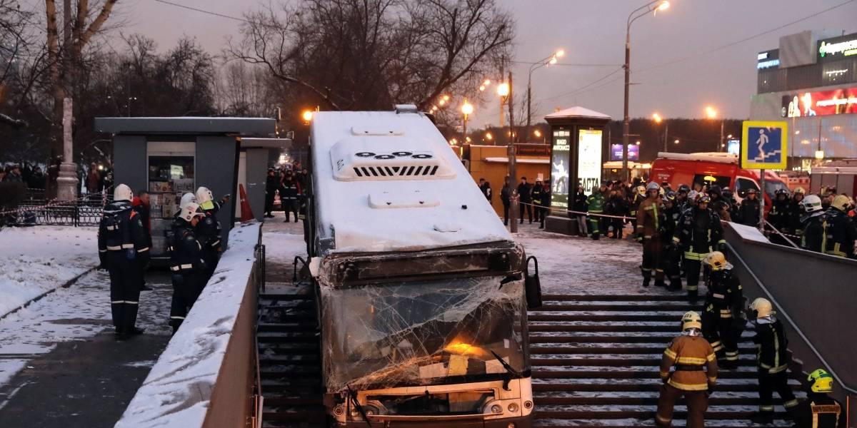 Al menos 5 muertos por atropellamiento masivo en Rusia