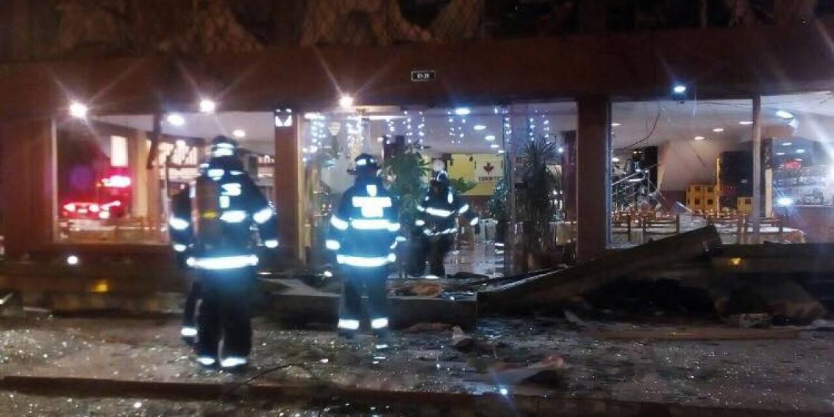 Detienen a propietario de restaurante que sufrió explosión de gas en Quito