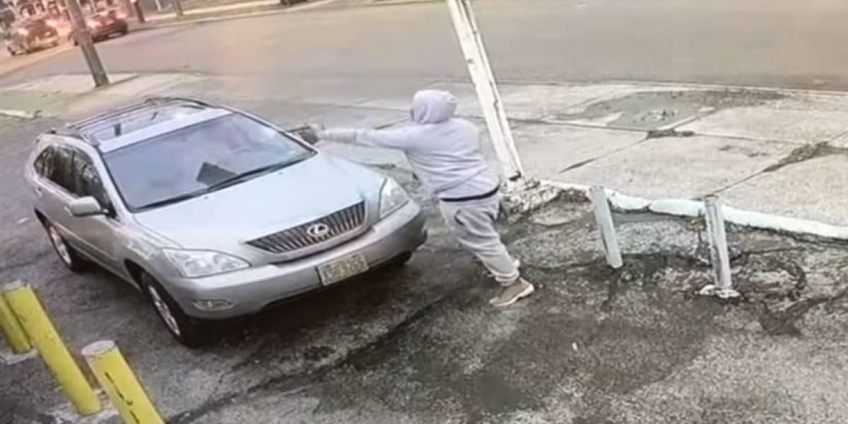 Como de película: video de brutal tiroteo en una gasolinera de EE.UU