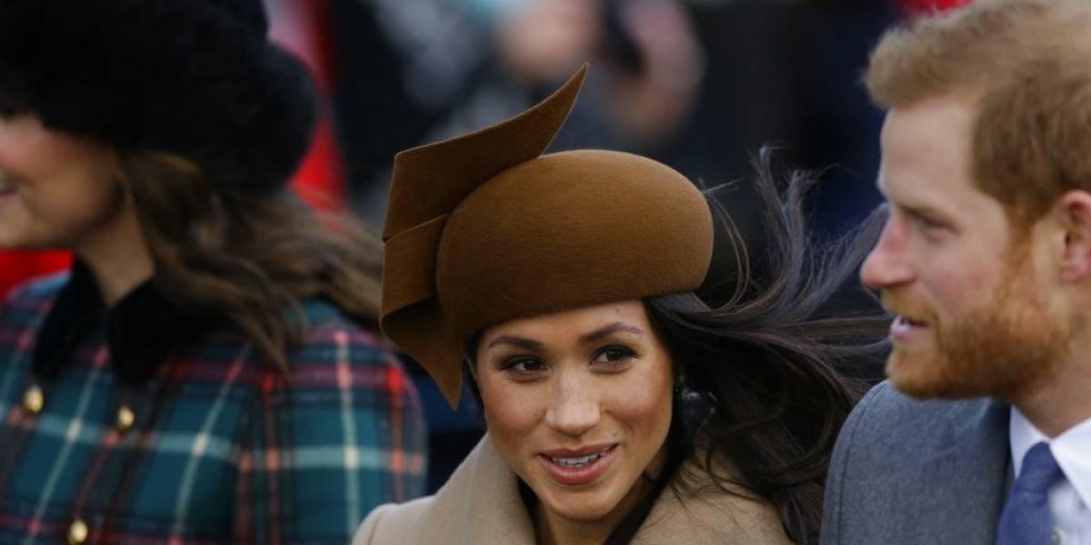 Meghan Markle ya es una integrante más de la familia Real y participa de servicio navideño con la reina